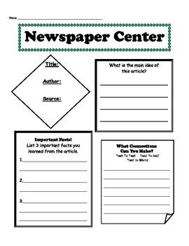 Newspaper Center