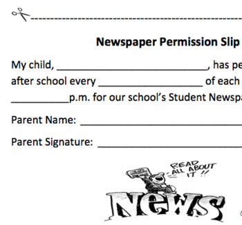 Newspaper Club Set Up