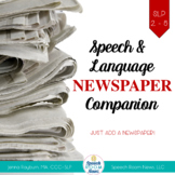 Newspaper Companion: Speech & Language Companion Pack for