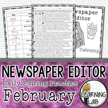 Editing Practice - February Edition