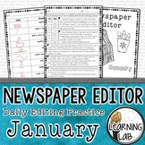 Editing Practice - January Edition