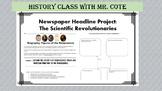 Newspaper Headline Project: The Scientific Revolution