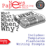 Newspaper Journalistic Writing Lesson