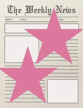 Newspaper Mock Template