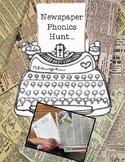 Newspaper Phonics Search