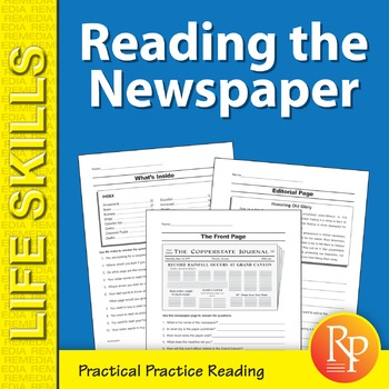 Newspaper: Practical Practice Reading