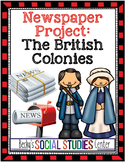 The British Colonies - Write a Newspaper About Daily Life