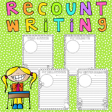Recount Writing Template