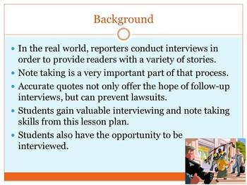On Assignment: Reporters in the Classroom