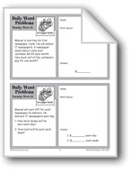 Newspaper Route (Grade 3 Daily Word Problems-Week 25)