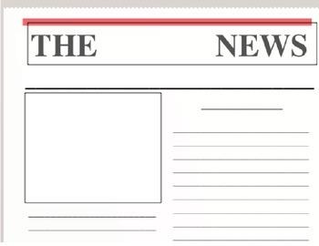 Newspaper Template