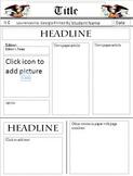 Newspaper Template Freebie