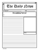 Newspaper Template - Multi Section