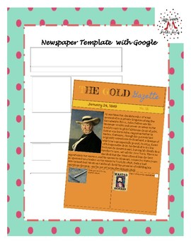 Newspaper Template Using Google