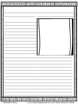 Newspaper Template Writing Reporting With Directions Blank