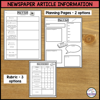 Newspaper Template for use with Google Apps