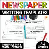 Newspaper Template Digital Option in Google Slides™