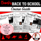 Chemistry Back to School Course Guide