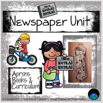 Newspaper Unit (Literacy and Math Activities)