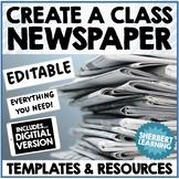 Create a Class Newspaper - factual and report writing - ED