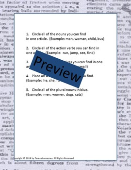 Gifted Education Newspaper in Classroom Center Grades 3-6