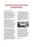 Newspaper report - Dunkirk Evacuations - WW2