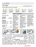 Newspaper template - Back Page