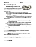 Newsworthy Classmates: News Writing Assignment