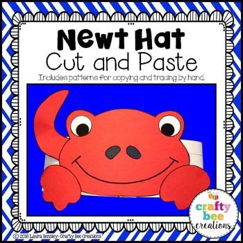 Newt Hat Cut and Paste