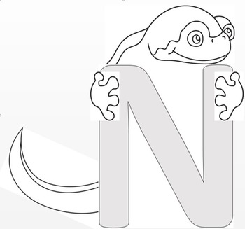 "Newt and Letter ""N"" Crafts"