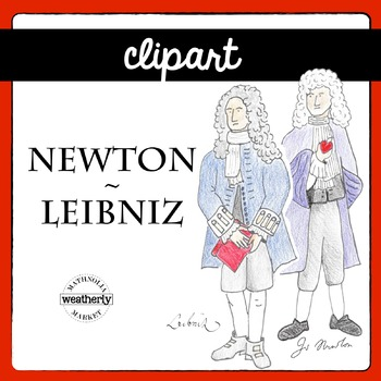 Newton and Leibniz - images