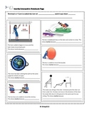 Newton's 1st Law Inertia Worksheet and Interactive Notebook Page