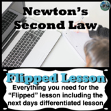 Newton's 2nd Law Flipped Lesson (Includes the next days di