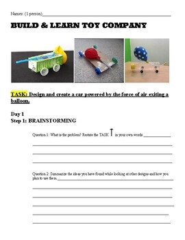 Newton's 2nd & 3rd Law of Motion Engineering Project