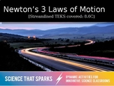 Newton's 3 Laws of Motion Notes