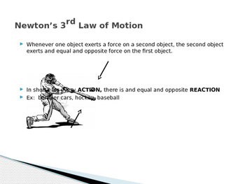 Newton's 3rd Law and Momentum