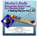 Newton's Cradle: Demonstrating Newton's Laws on a Shoestri