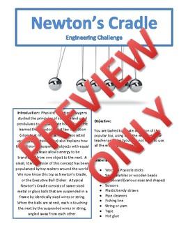 Newton's Cradle Engineering Challenge