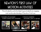 Newton's First Law of Motion Activities