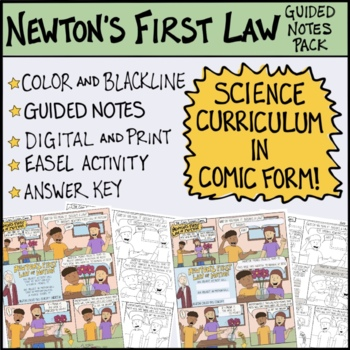 Newton's First Law of Motion Comic