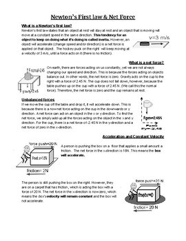 Newton's Law Overview Reading