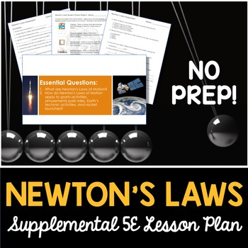 Newton's Law - Supplemental Lesson - No Lab