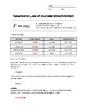 Newton's Law of Accelerated Motion Worksheet