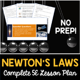 Newton's Laws Complete 5E Lesson Plan