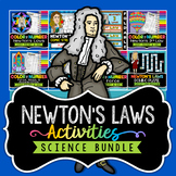 Newton's Laws Activities - Bundle - Save Over 30%