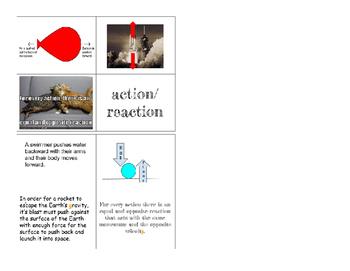 Newton's Laws Card Sort Activity