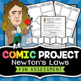Newton's Laws Project - Comic Strip Activity