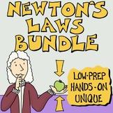Newton's Laws of Motion Activity Bundle