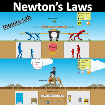 Newton's Laws Inquiry Lab