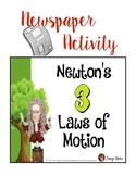 Newton's Laws Newspaper Activity